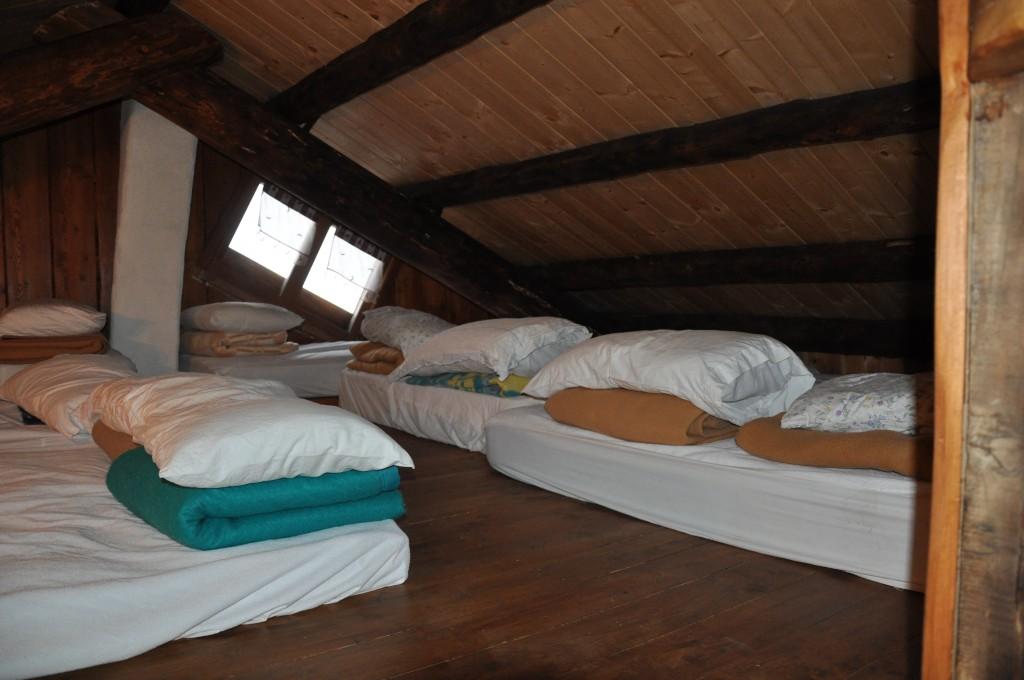 rifugio dahu dormire sci
