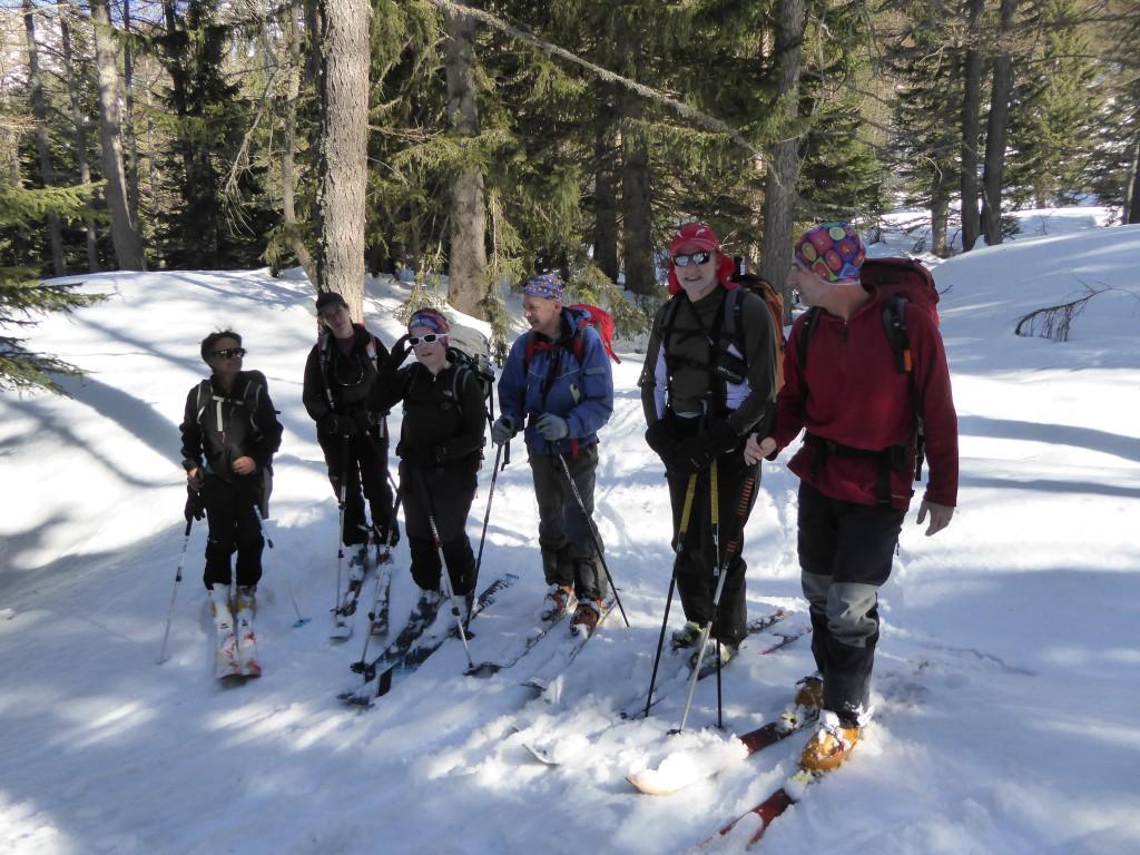 france randonnait ski